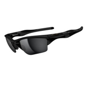Oakley Half Jacket 2.0 XL Sunglasses, Polished Black, medium