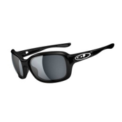 Oakley Urgency Womens Sunglasses, Polished Black, medium