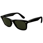 Ray-Ban Original Wayfarer Polarized Sunglasses, Green, medium