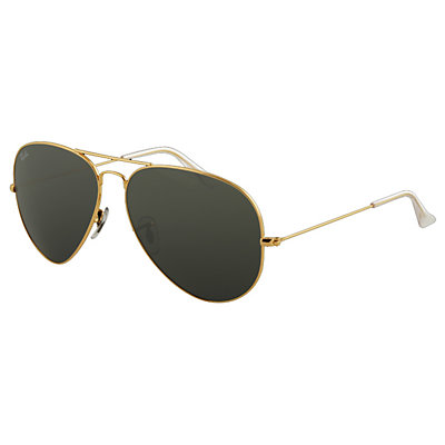 Ray-Ban Aviator Large Metal Polarized Sunglasses, , large