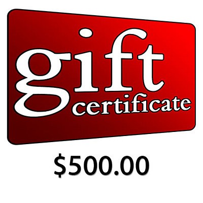 $500 Gift Certificate, , large