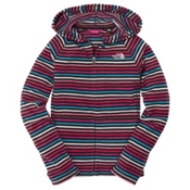The North Face Striped Glacier Zip Kids Hoodie, , medium