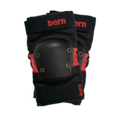 Bern Knee and Elbow Pad Pack, Black-Red, medium
