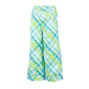 Obermeyer Genie Toddler Girls Ski Pants, Bluebell Tartan, medium