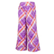 Obermeyer Genie Toddler Girls Ski Pants, Passionflower Tartan, medium
