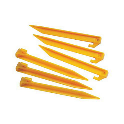 Coleman Plastic 9 inch Tent Stakes, , viewer