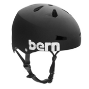 Bern Macon EPS Mens Skate Helmet, Matte Black, medium