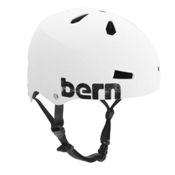 Bern Macon EPS Mens Skate Helmet, Matte White, medium