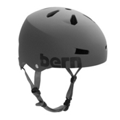Bern Macon EPS Mens Skate Helmet, Matte Grey, medium