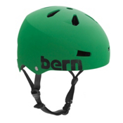 Bern Macon EPS Mens Skate Helmet, Matte Kelly Green, medium