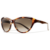 Smith Cypress Womens Sunglasses, Havana Brown, medium