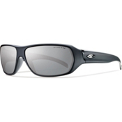 Smith Pavilion Polarized Sunglasses, Matte Black, medium