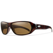 Smith Pavilion Polarized Sunglasses, Matte Totoise, medium