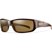 Smith Prospect Polarized Sunglasses, Brown Stripe, medium