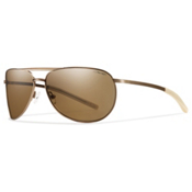 Smith Serpico Slim Polarized Sunglasses, Matte Desert, medium