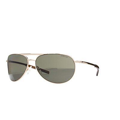 Smith Serpico Slim Polarized Sunglasses, Gold-Polarized Gray Green, viewer