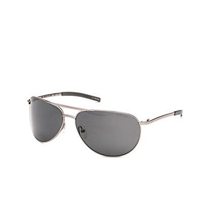 Smith Serpico Slim Polarized Sunglasses, Gold-Polarized Gray Green, viewer