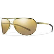 Smith Showdown Polarized Sunglasses, Matte Gold, medium