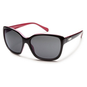 SunCloud Cayenne Polarized Sunglasses, Black Backpaint, medium