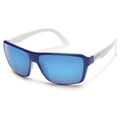 SunCloud Colfax Polarized Sunglasses, Blue White, medium