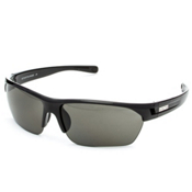 SunCloud Detour Polarized Sunglasses, Black, medium