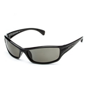 SunCloud Hook Polarized Sunglasses, Black-Gray Polarized, medium