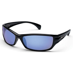SunCloud Hook Polarized Sunglasses, Black-Blue Mirror Polarized, 256