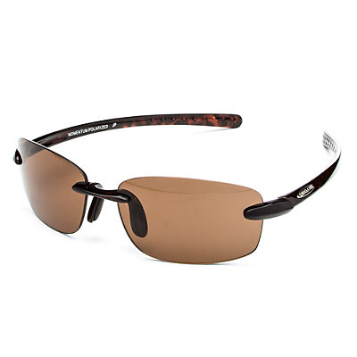 SunCloud Momentum Polarized Sunglasses, Tortoise-Brown Polarized, large