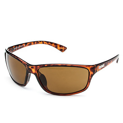 SunCloud Sentry Polarized Sunglasses, Tortoise-Brown Polarized, large