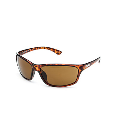 SunCloud Sentry Polarized Sunglasses, Tortoise-Brown Polarized, viewer