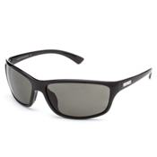 SunCloud Sentry Polarized Sunglasses, Black, medium