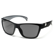SunCloud Speedtrap Polarized Sunglasses, Black Backpaint, medium