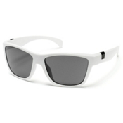 SunCloud Speedtrap Polarized Sunglasses, White, medium