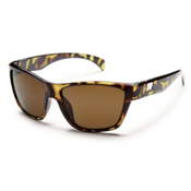 SunCloud Speedtrap Polarized Sunglasses, Tortoise, medium