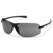 SunCloud Ticket Polarized Sunglasses, Black, medium