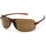 SunCloud Ticket Polarized Sunglasses, Brown,