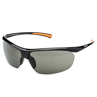 SunCloud Zephyr Polarized Sunglasses, Black-Gray Polarized, large