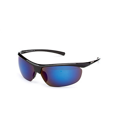 SunCloud Zephyr Polarized Sunglasses, Black-Gray Polarized, viewer