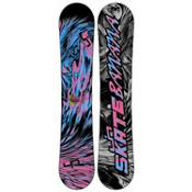 Lib Tech Skate Banana BTX Narrow Snowboard 2013, Pink-Blue, medium