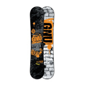 Gnu Carbon Credit BTX Wide Snowboard 2013, Orange, medium
