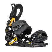 Gnu Choice Snowboard Bindings, Black, medium