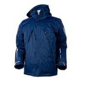 Obermeyer Hawkeye Mens Insulated Ski Jacket, Suit Blue, medium