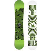 Rome Agent Rocker Wide Snowboard 2013, Green, medium