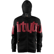 ThirtyTwo Reppin Hoodie, Black-Red, medium