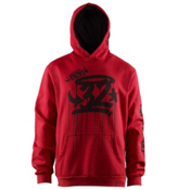 ThirtyTwo El Segundo Hoodie, Red, medium