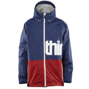 ThirtyTwo Shiloh 2 Mens Shell Snowboard Jacket, Navy, medium