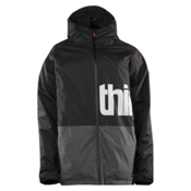 ThirtyTwo Shiloh 2 Mens Shell Snowboard Jacket, Black Rinse, medium