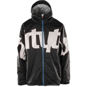 ThirtyTwo Lowdown 2 Mens Shell Snowboard Jacket, Black, medium