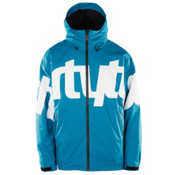 ThirtyTwo Lowdown 2 Mens Shell Snowboard Jacket, Pacific Blue, medium