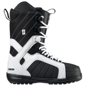 Forum Fastplant Snowboard Boots 2013, White Black, medium